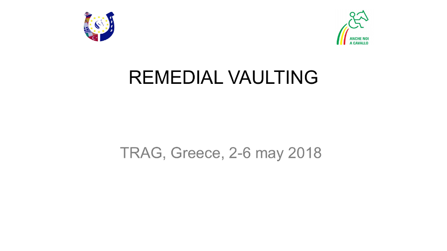 Remedial Vaulting
